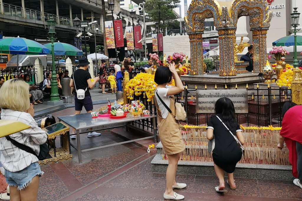 Прогулки по улицам Таиланда