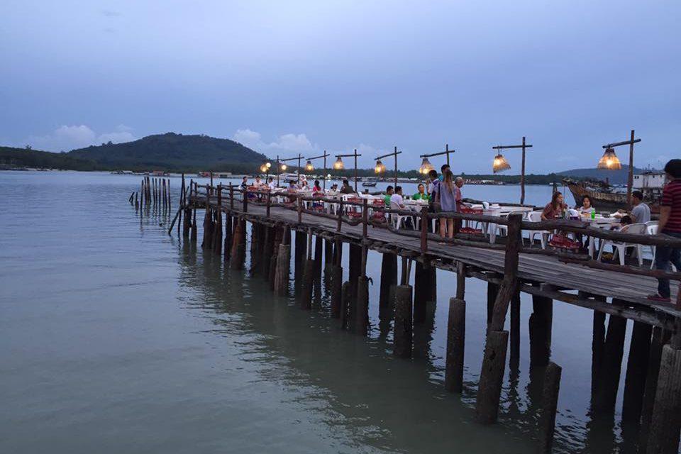 Ресторан морепродуктов Laem Hin Seafood Пхукет
