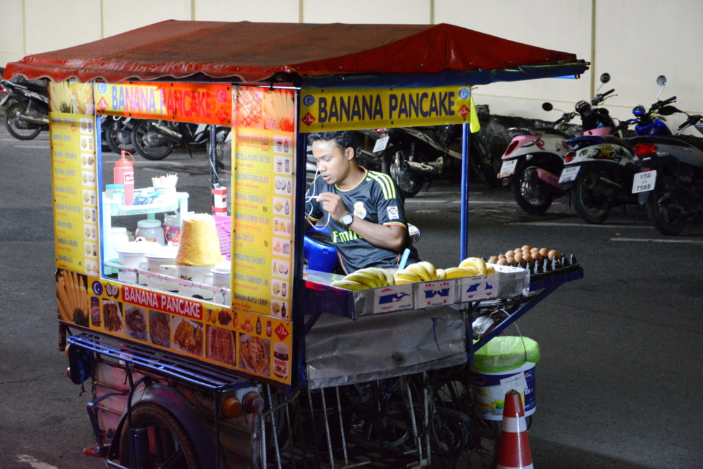 Уличные десерты Таиланда