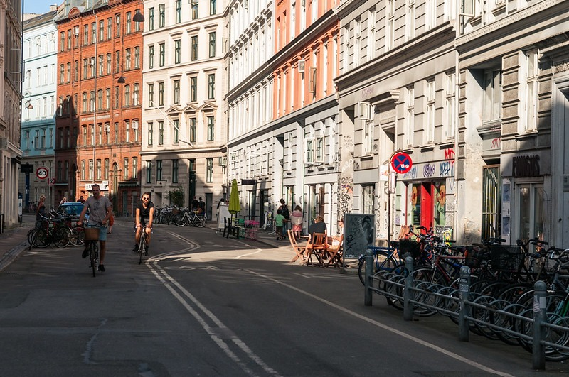 Копенгаген что купить - улица Elmegade