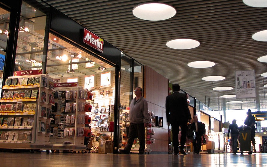 Сувениры в Аэропорту Копенгагена