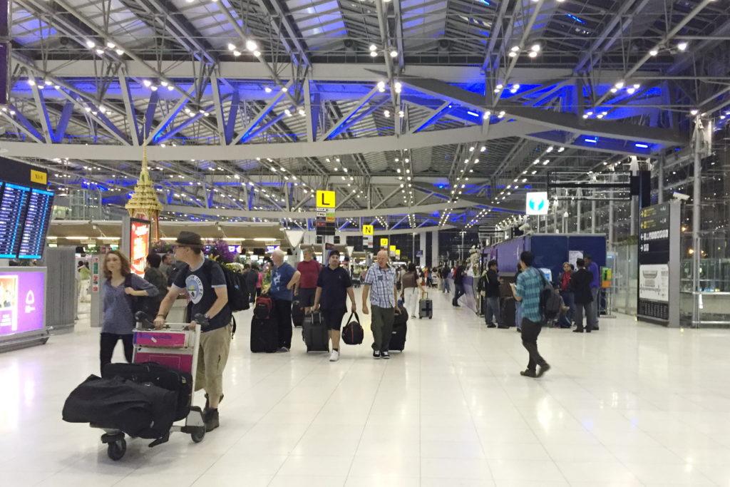 Аэропорт: таможня Таиланда