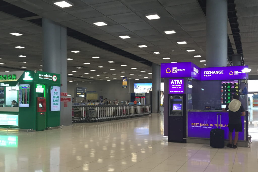 Обменники и банкоматы Таиланда