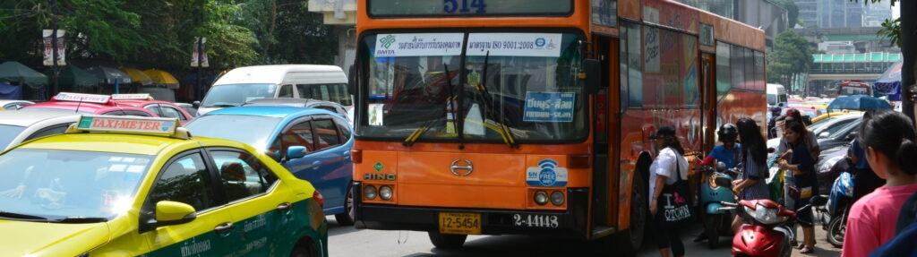 Междугородный общественный транспорт Таиланда