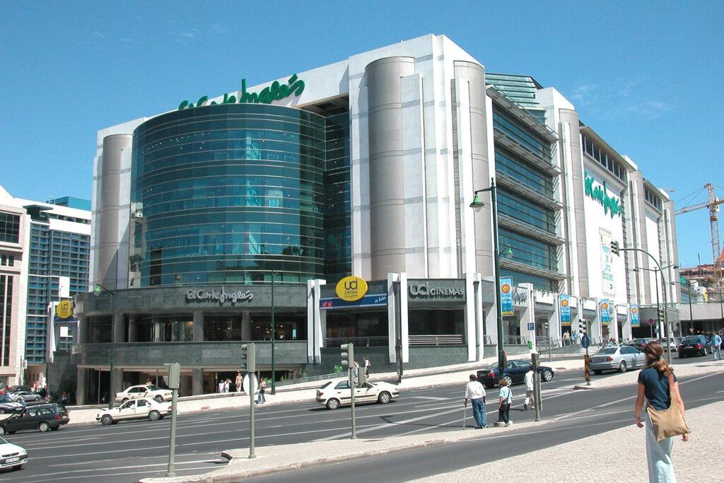 El Corte Ingles магазины Лиссабона