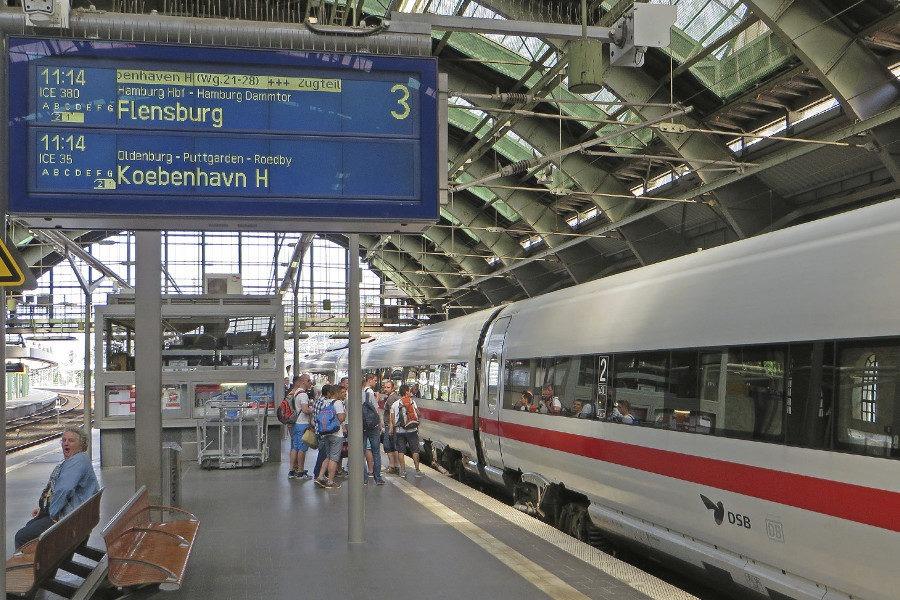 Жд билеты в Дании