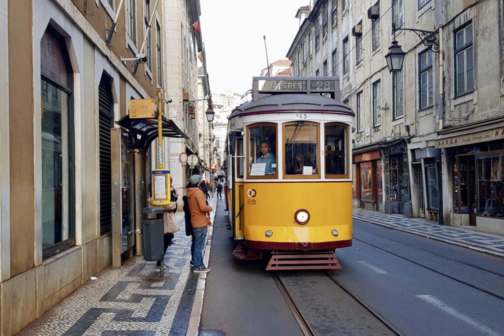 28 трамвай, Лиссабон