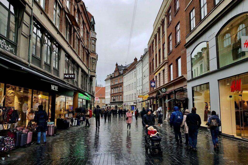 Погода в Дании зимой - Дождливая Дания