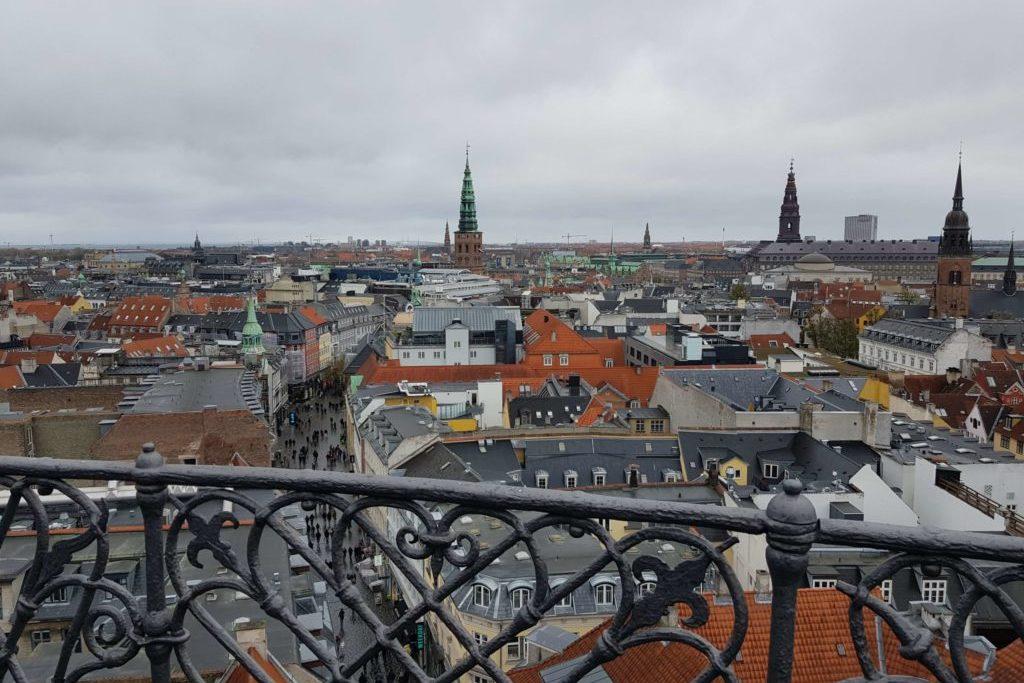 Копенгаген круглая башня
