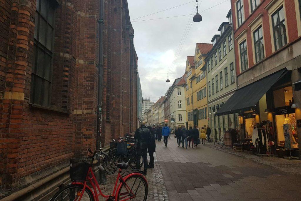 Копенгаген аренда велосипеда