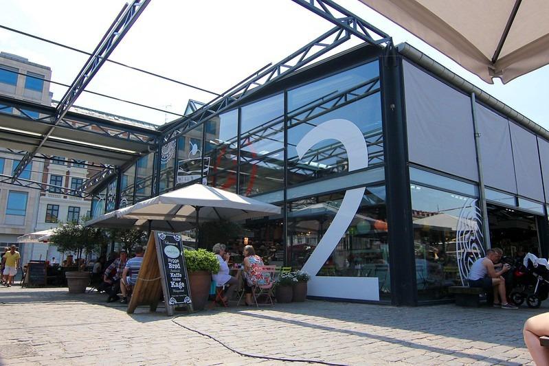 Рынок еды Копенгаген - Torvehallerne