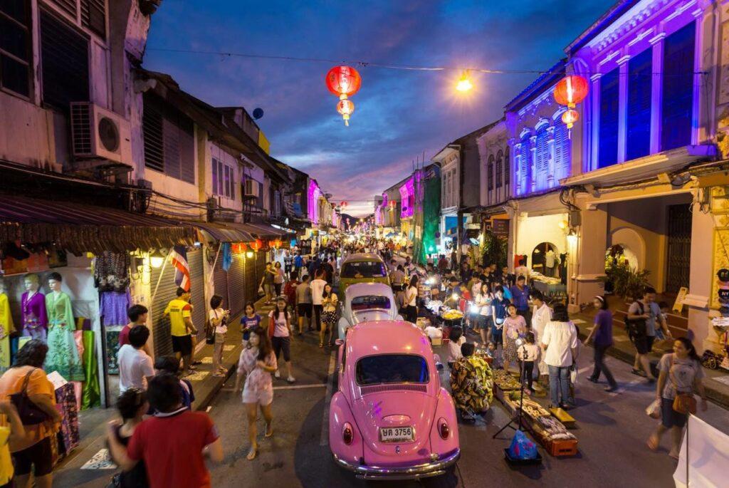 Уличный рынок ярмарка Пхукет