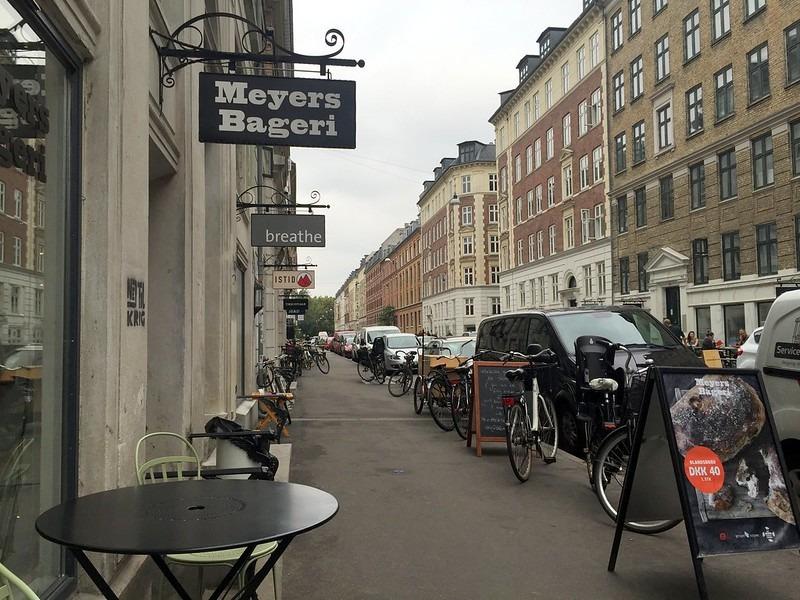 Улица Jægersborggade, Нёрребро район, Копенгаген