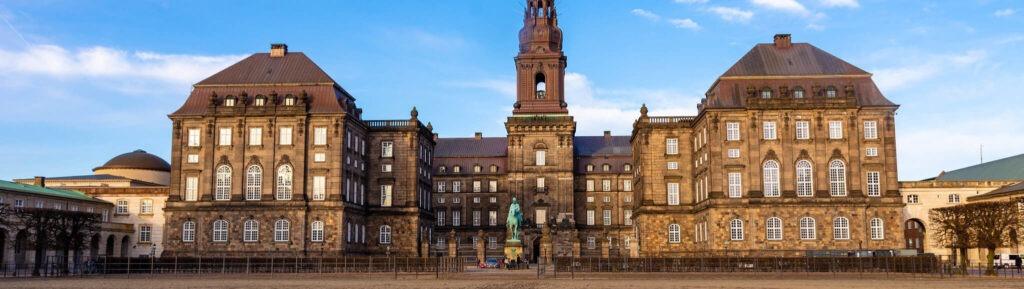 Дворец Кристиансборг Копенгаген