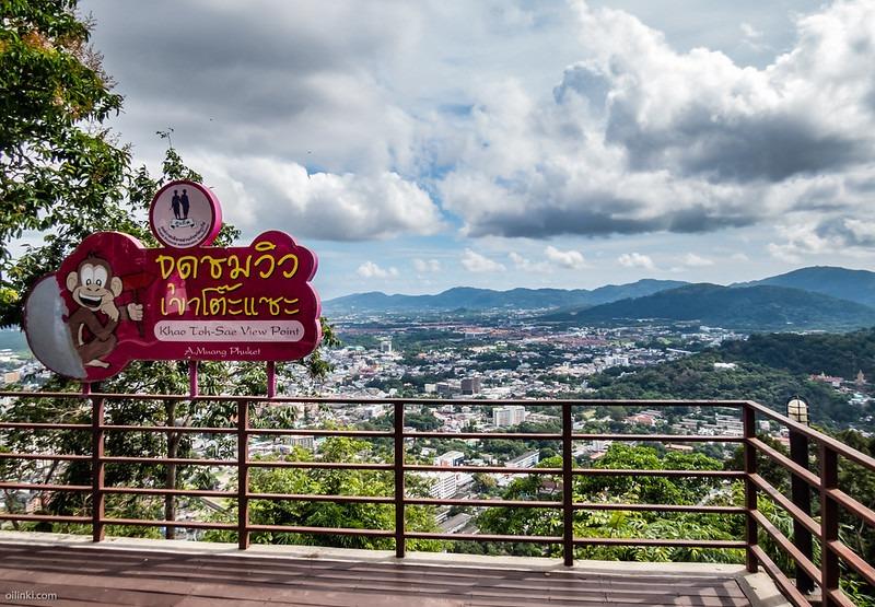 Смотровая площадка Гора обезьян Пхукет