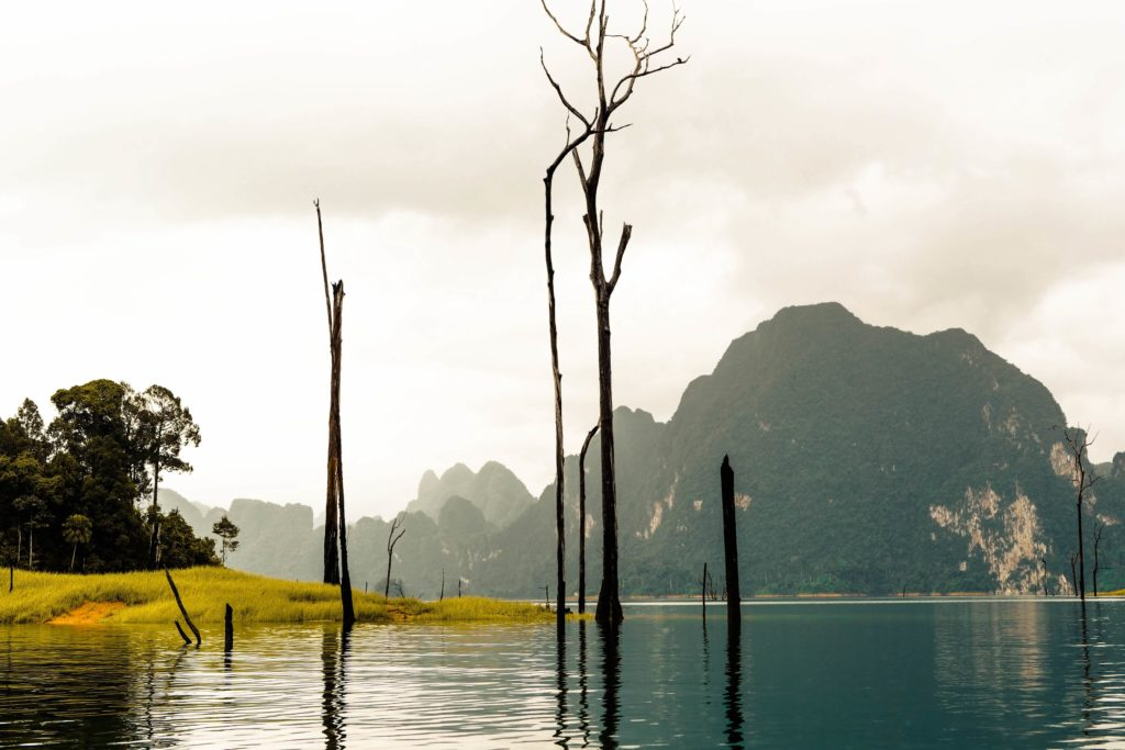 Чео лан - затопленные деревни