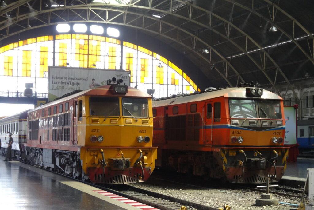 Поезда Таиланда