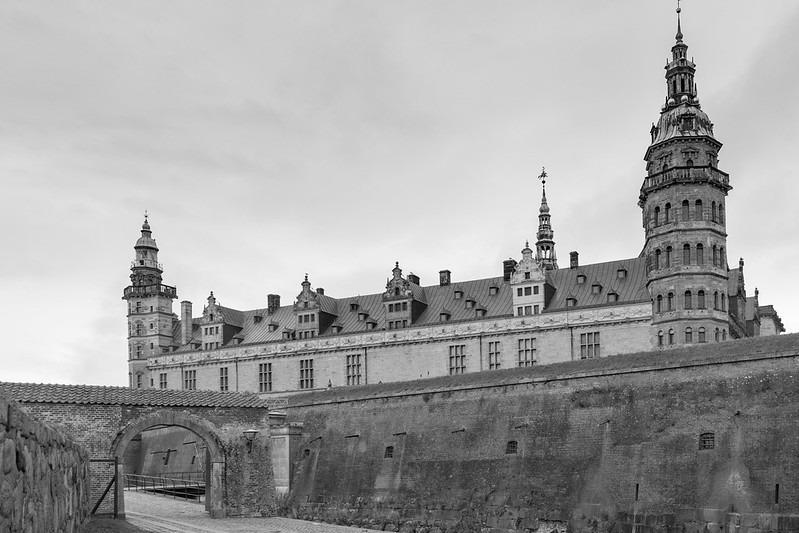 Замок Гамлета в Дании фото