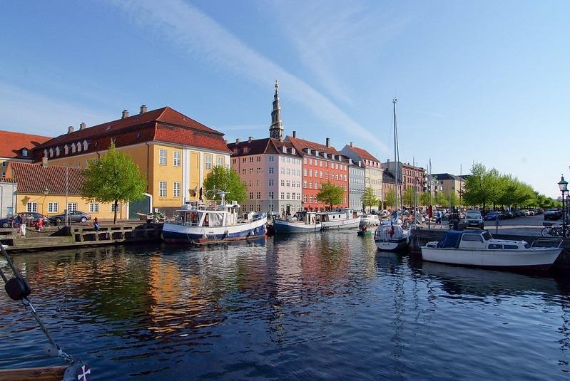 Копенгаген - богемный район Christianshavn