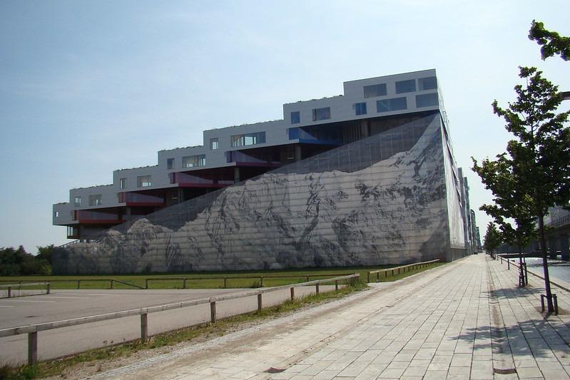 Копенгаген здание Bjerget