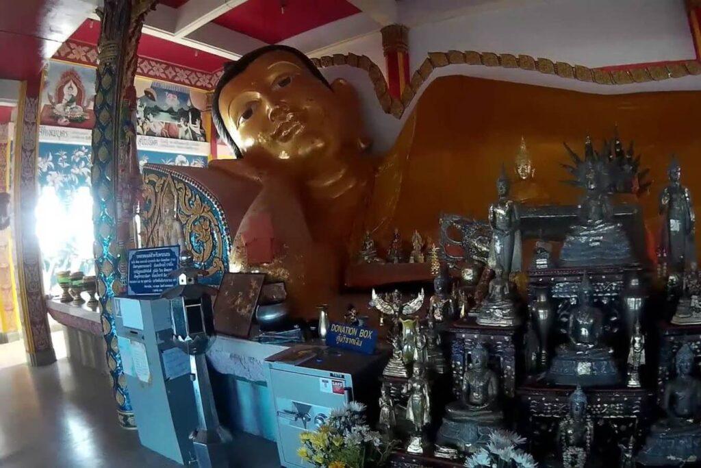 Храм на Сирэ - Большая фигура Будды