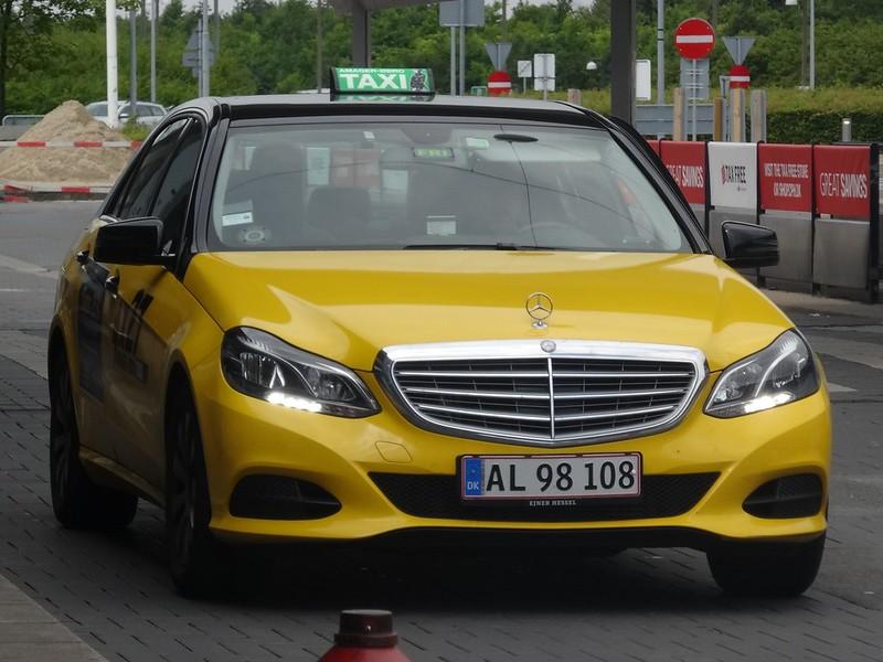 Копенгаген, такси
