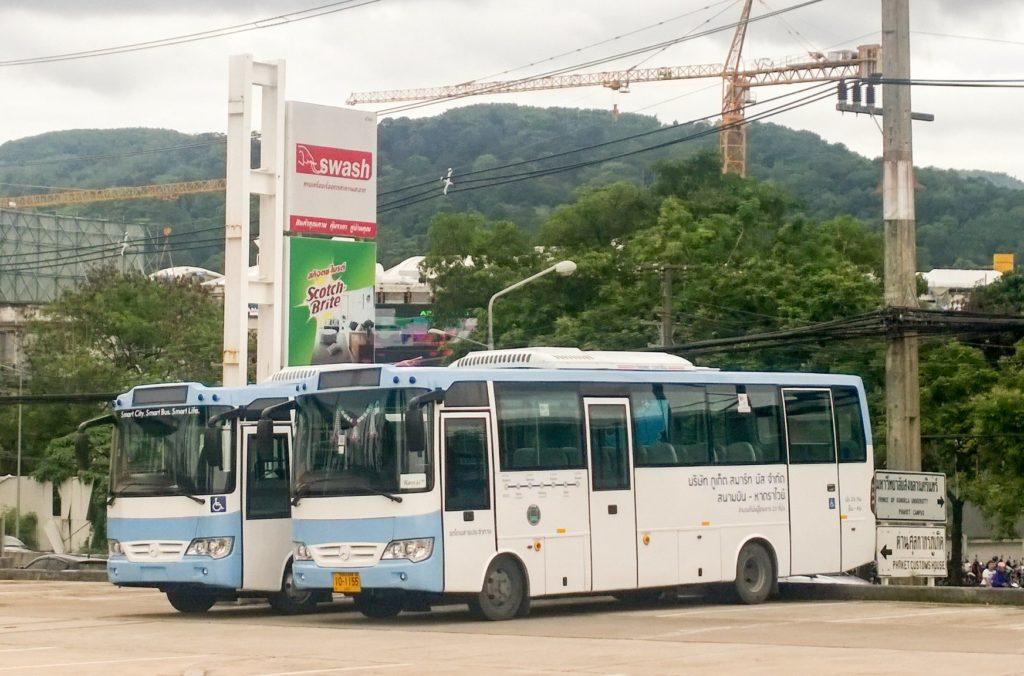 Smart Bus полноценный автобус в Пхукете