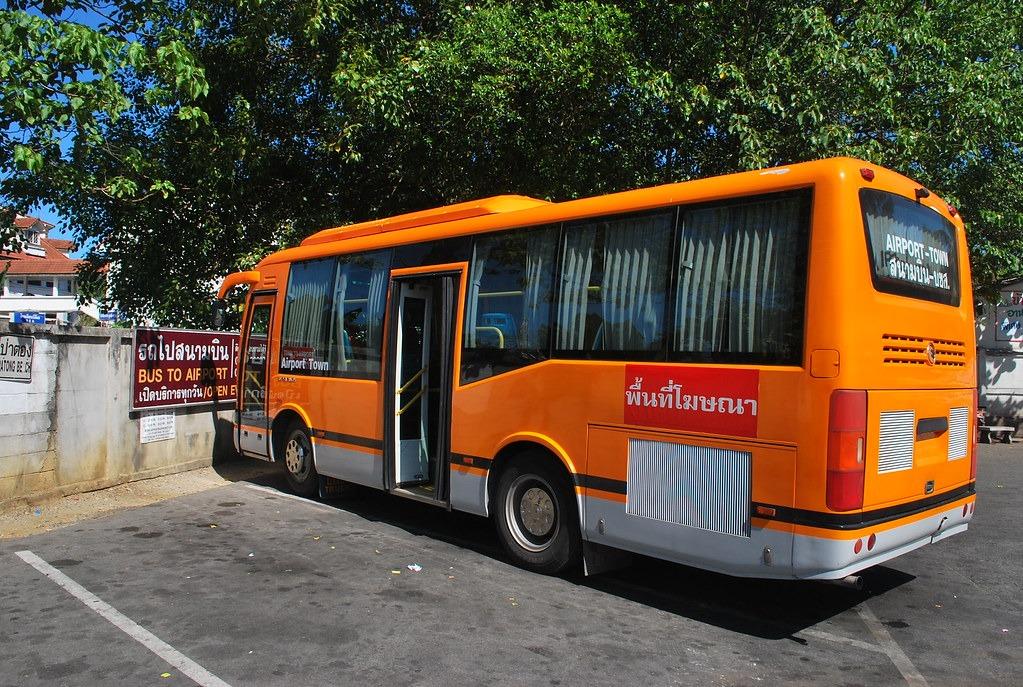 Транспорт аэропорт Пхукет Патонг