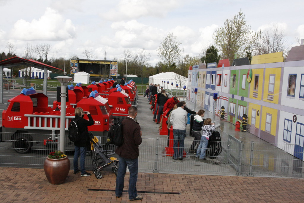 Дания детский парк Леголенд