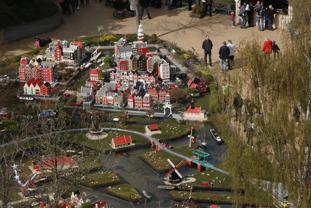 Город из Лего в Дании