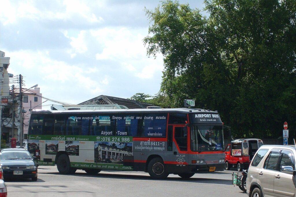 Автобусы аэропорта Пхукет