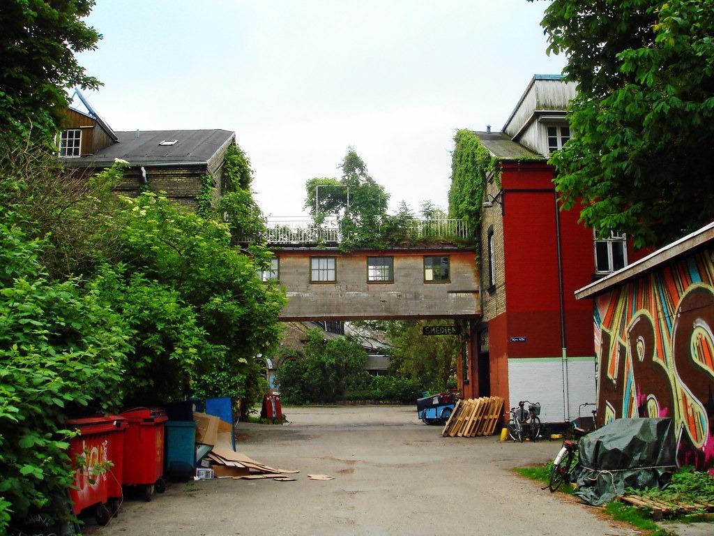 Квартал Копенгагена Christiania