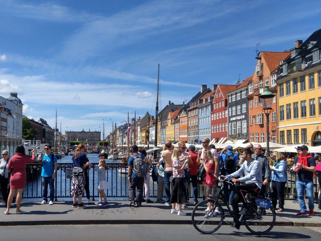 Копенгаген июнь