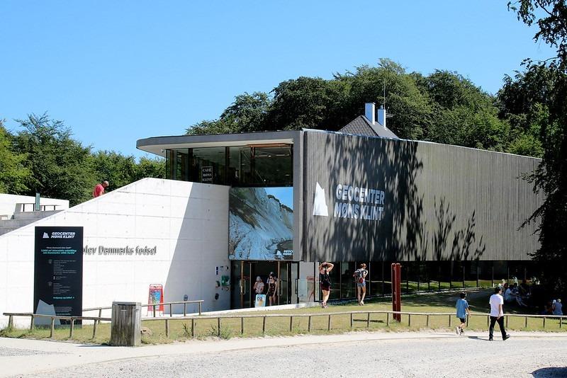 Мен остров - центр Geocenter Møns Klint