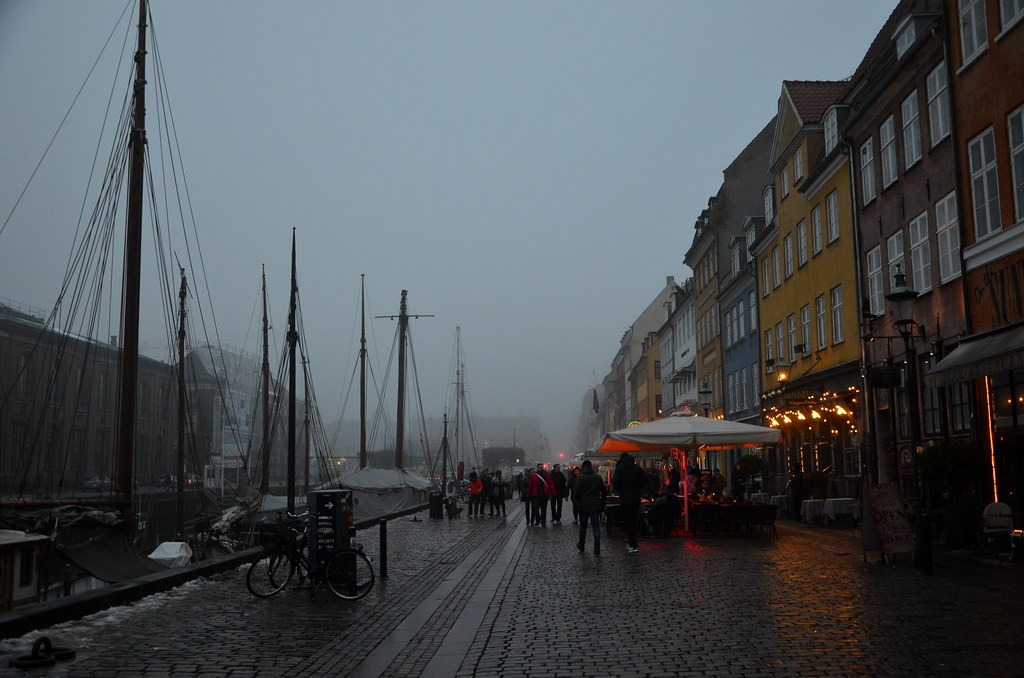 Погода в Копенгаген в ноябре