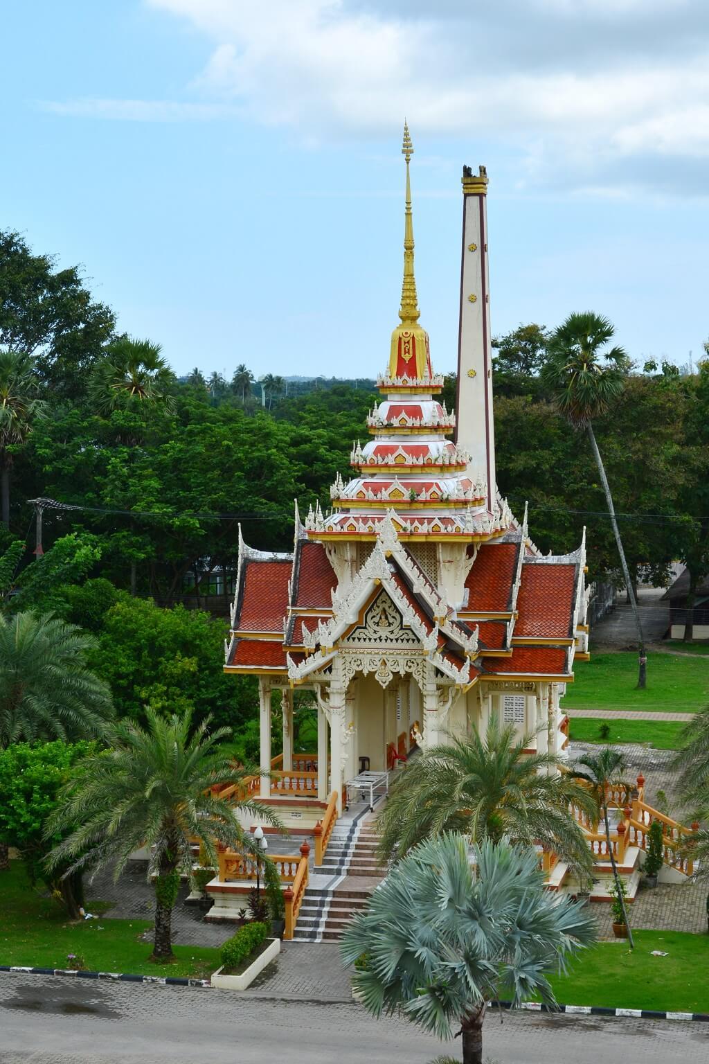 Крематорий в Ват Чалонг Пхукет