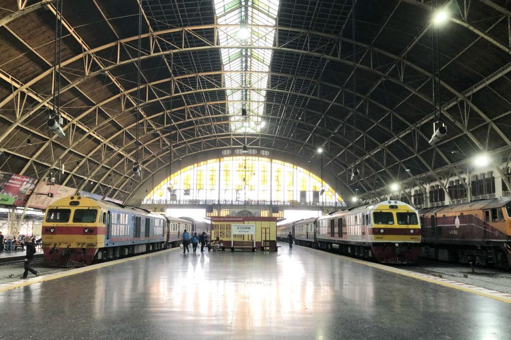 Железнодорожный вокзал в Таиланде