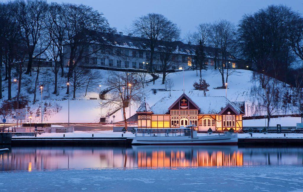 Отдых в Дании с ребенком - лыжный отдых в Дании