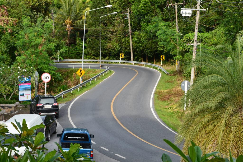 На дорогах Таиланда