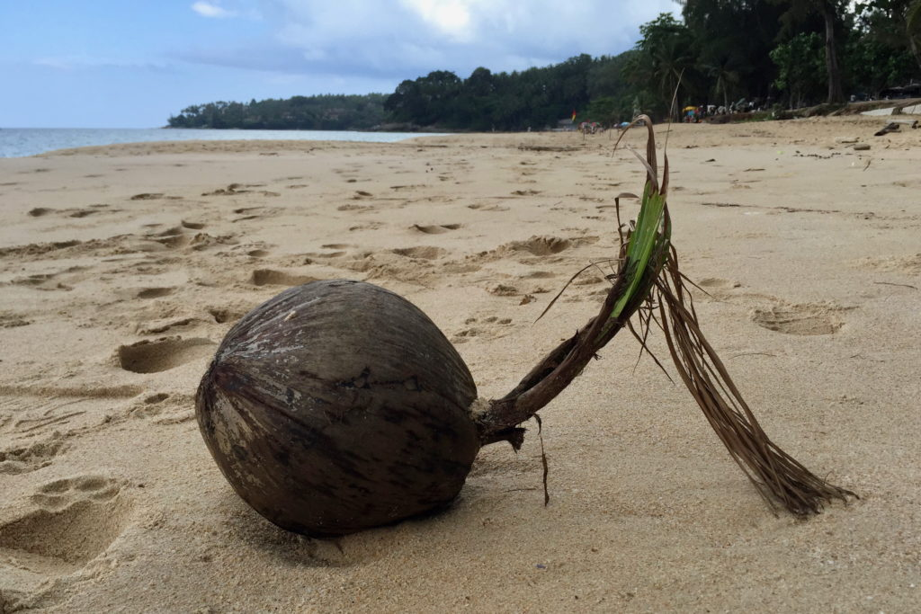 Лето на пляже в Таиланде