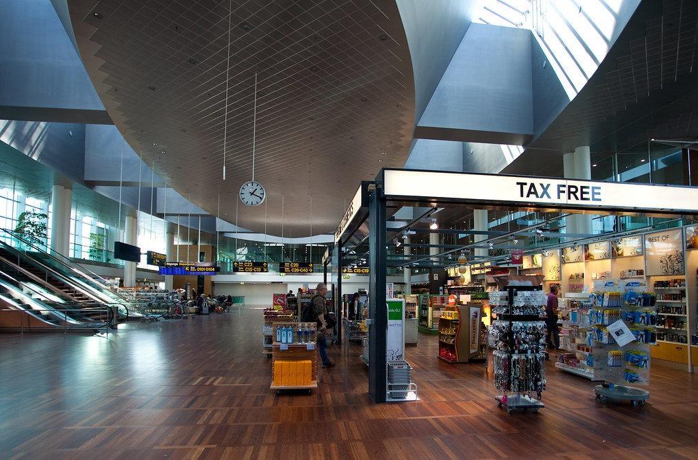 Дания аэропорт