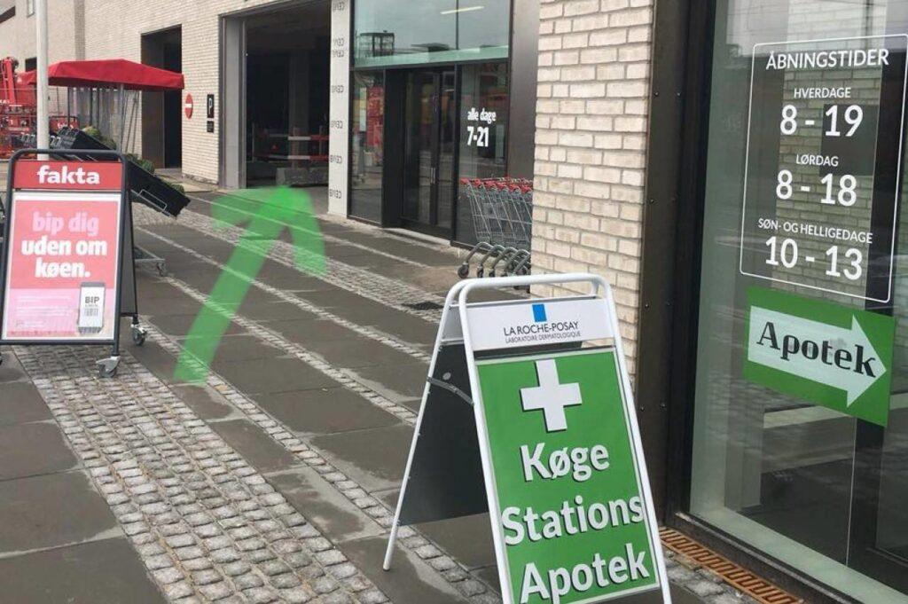Аптека в Дании