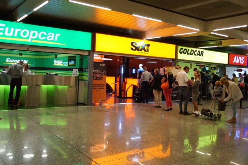 аренда автомобиля, Лиссабон