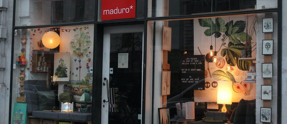Магазин сувениров Maduro в Копенгагене