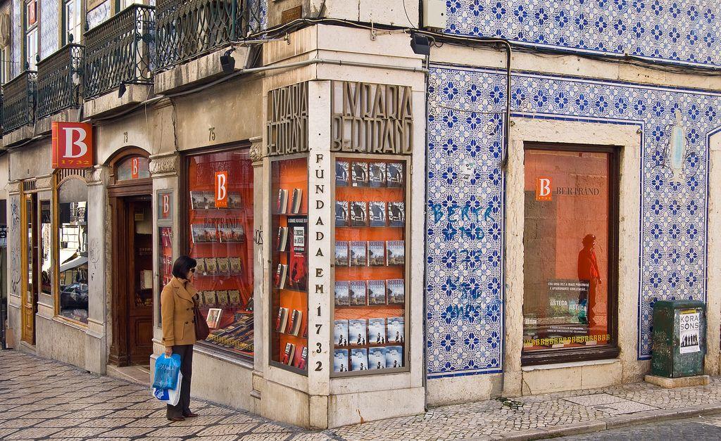 Что привезти из Лиссабона - Книги из Bertrand