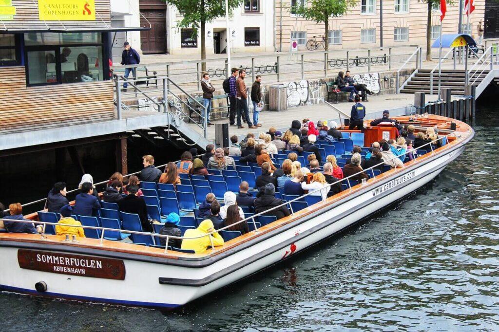 Дания столица погода - водные прогулки по каналу