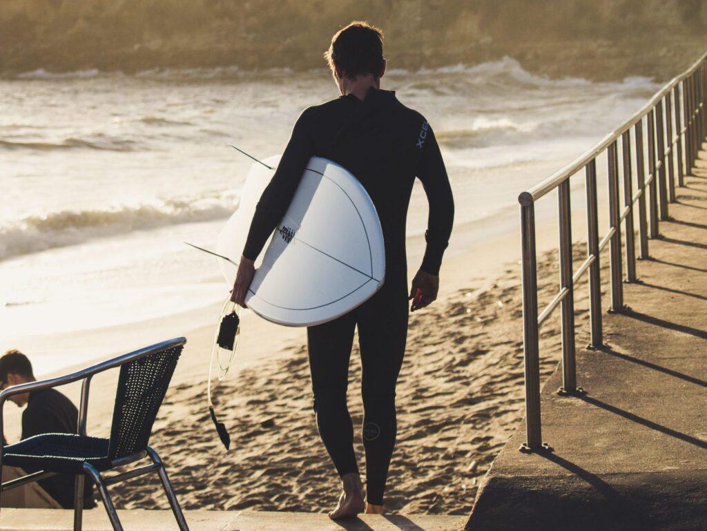 Португалия серфинг осень