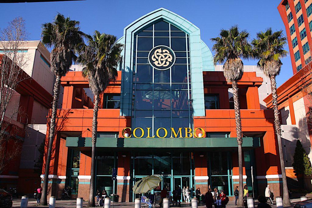 Centro Colombo магазины Лиссабона