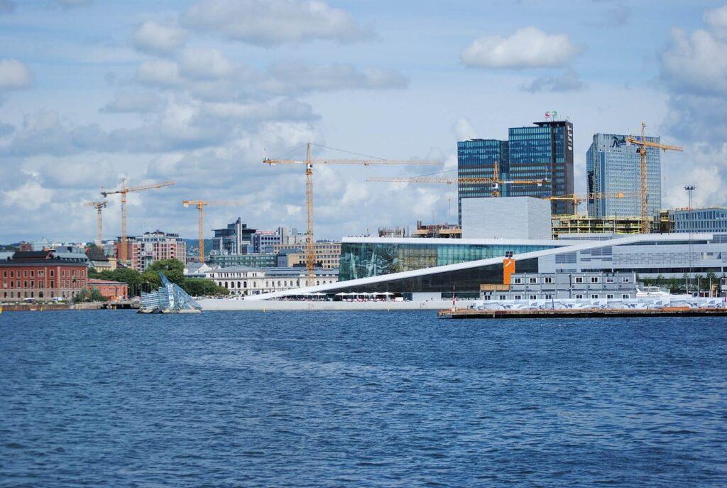 Из Копенгагена в Осло