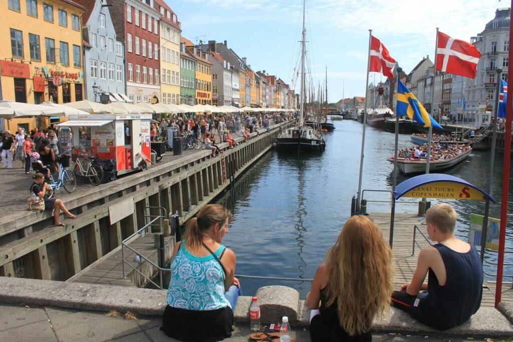 Лето в Дании
